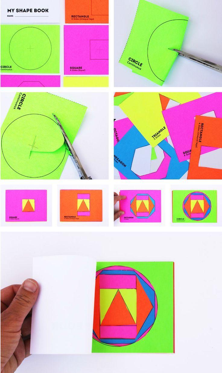 1000 Ideas About Shape Activities On Pinterest 3d