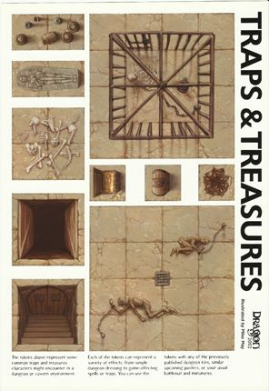 Dungeon Tiles from Dragon Magazine Mortis, Lost and the Damned Forum #dungeontiles #D #RPG