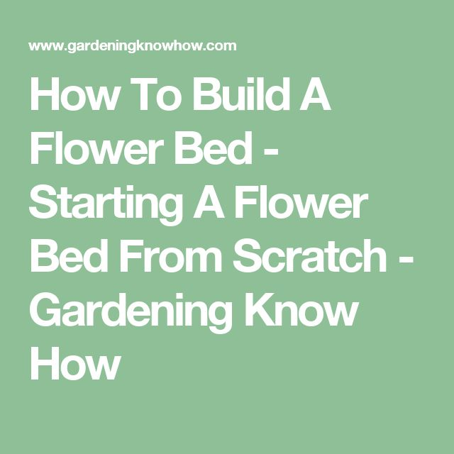 how to create a tropical garden bed from scratvh