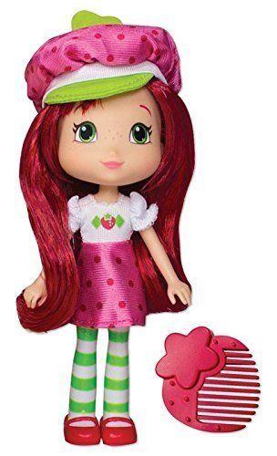 The Bridge Direct, Strawberry Shortcake, Berry Best Friends, Strawberry Shortcake, 6 Inches � The Toy Shop