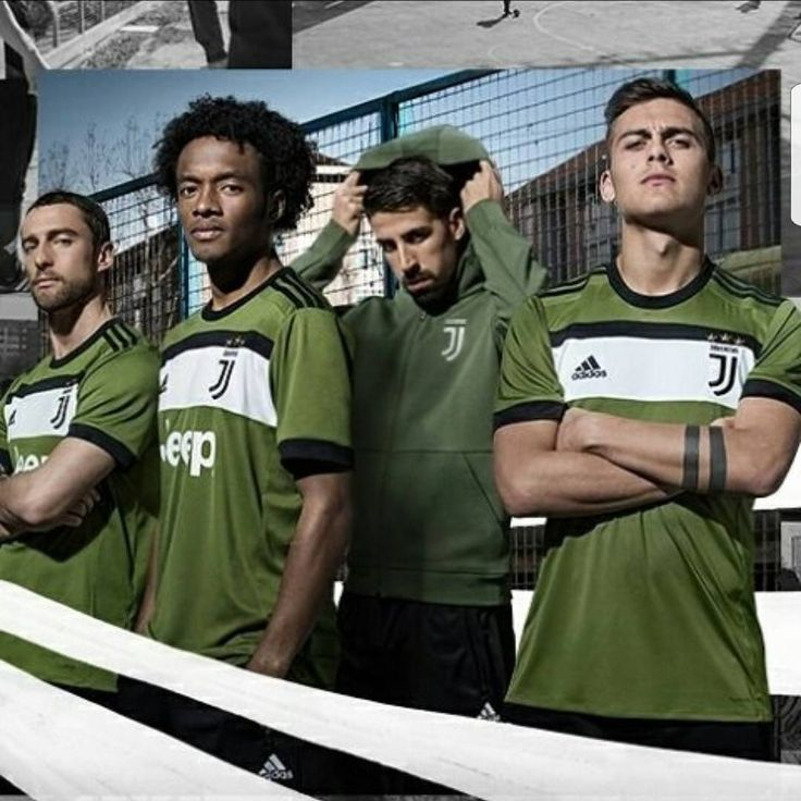 La 3 maglia ufficiale della juve per la stagione 2017&18