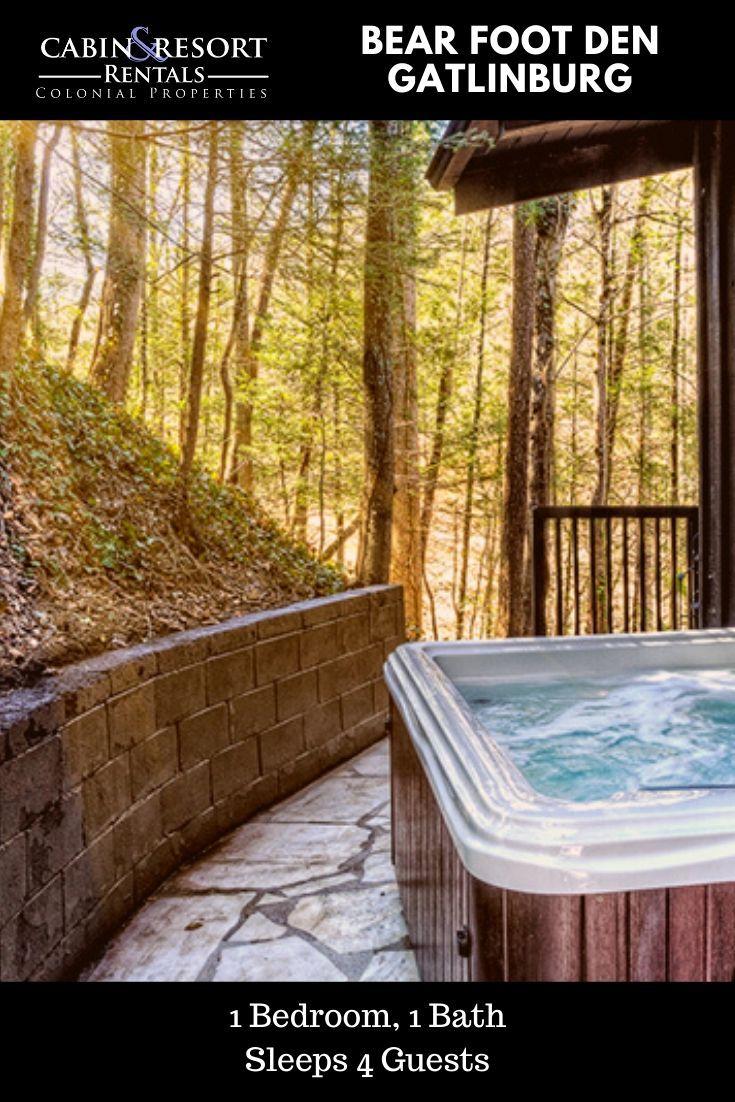 Bear Foot Den in 2020 Mountain vacations, Gatlinburg