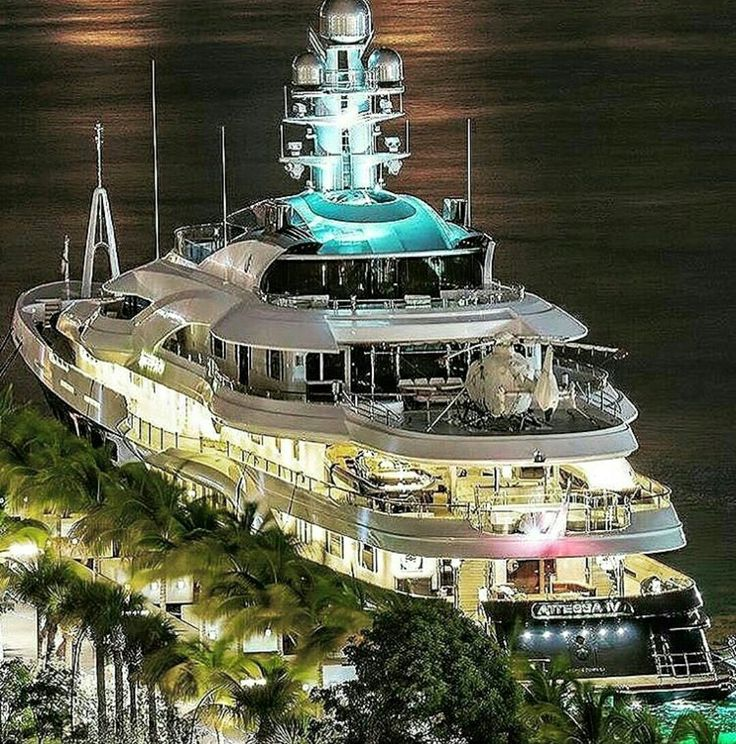 A yacht to see