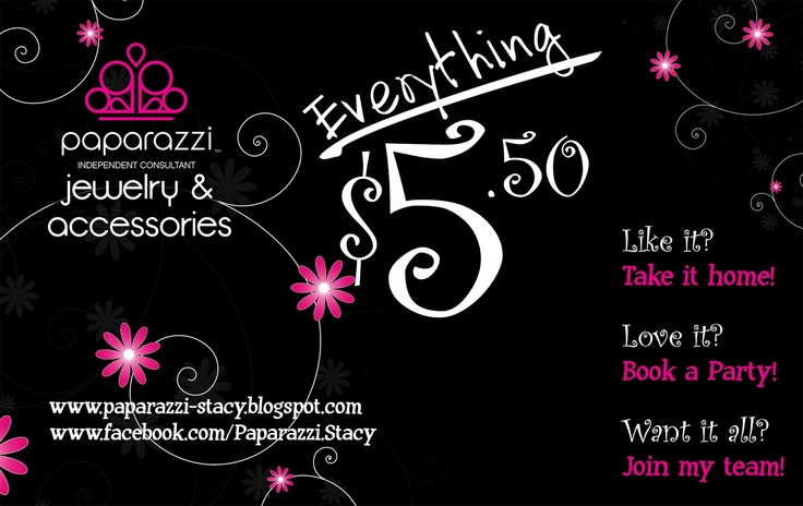 Paparazzi jewelry and accessories by stacy independent for Paparazzi jewelry find a consultant