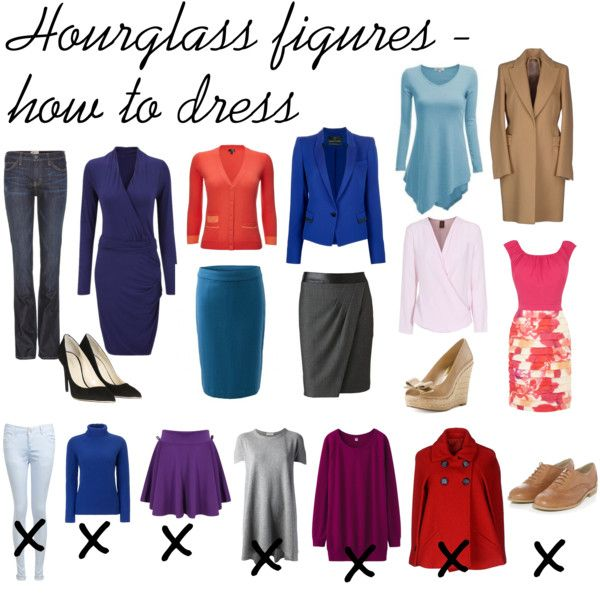 "Day 3 ""Hourglass figures - how to dress"" by miscanthus on Polyvore #newyearstylechallenge"