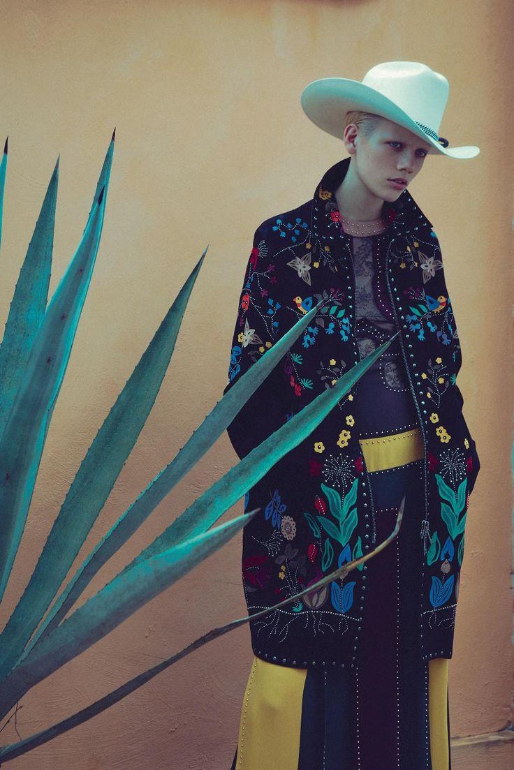 cowboy song: marjan jonkman by sofia sanchez & mauro mongiello for numéro #171 march 2016   visual optimism; fashion editorials, shows, campaigns & more!