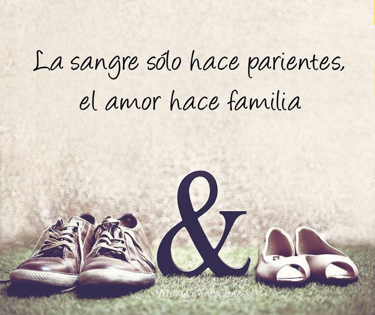 El amor,no un papel.                                                                                                                                                                                 Más #familiafrases