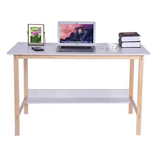 Sdoveb Desktop Computer Table Modern Simple Home Workstation Student Study Writing Table Desk Fo Computer Desks For Home Simple Study Desk Simple Computer Desk