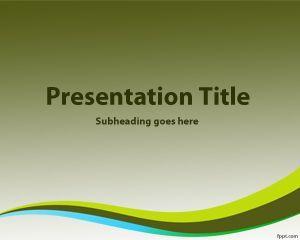 La plantilla PowerPoint con fondo verde es un diseño de PowerPoint sencillo y simple para presentaciones de todo tipo así como también presentaciones para convertirse en verde con un templateGoing green PowerPoint, que puede descargar gratis para Microsoft PowerPoint 2010 y 2007
