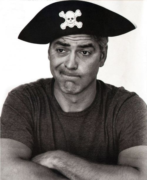 George Clooney: Pirates Life, George Clooney Andy, Movie Series, Georgeclooney, Actor, Pirates Celebs, Clooney Andy Gott, Pirates Pin, Clooney George
