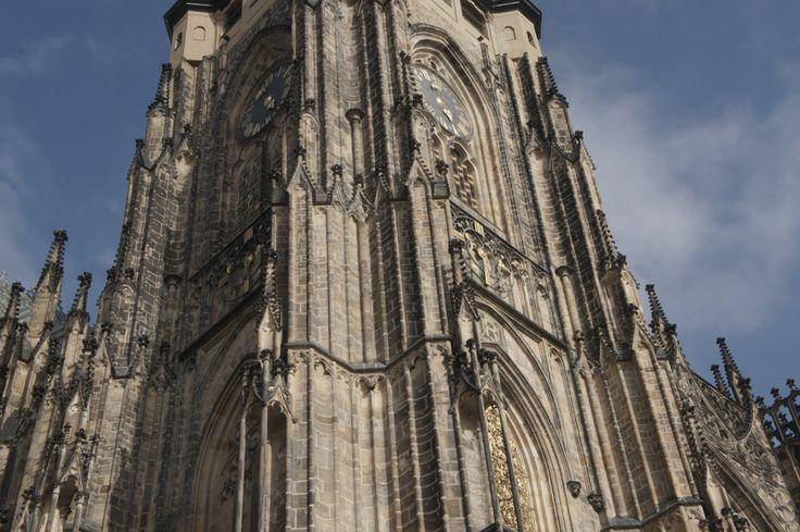 saint vitus cathedral at prague^october 2012
