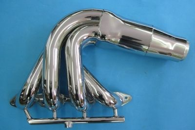 """LIGHTNING ALL STAINLESS BIG BLOCK CHEV MERCURY HEADER 2"""" PRIMARY 36"""" OVERALL WIDTH"""