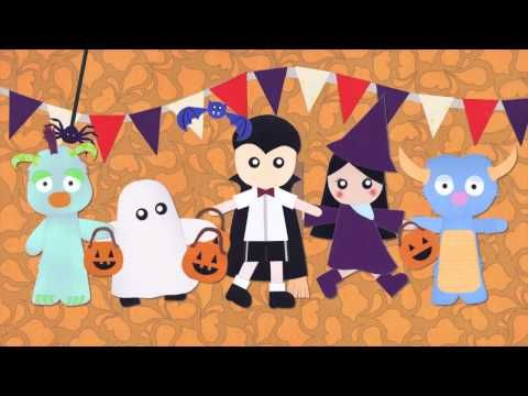 ▶ Los Monstruos: Halloween Song in Spanish by Music With Sara - YouTube