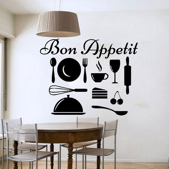 125 best kitchen decal images on Pinterest | Kitchen ...
