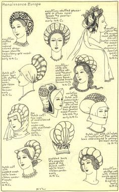 Image result for 16th century headdress