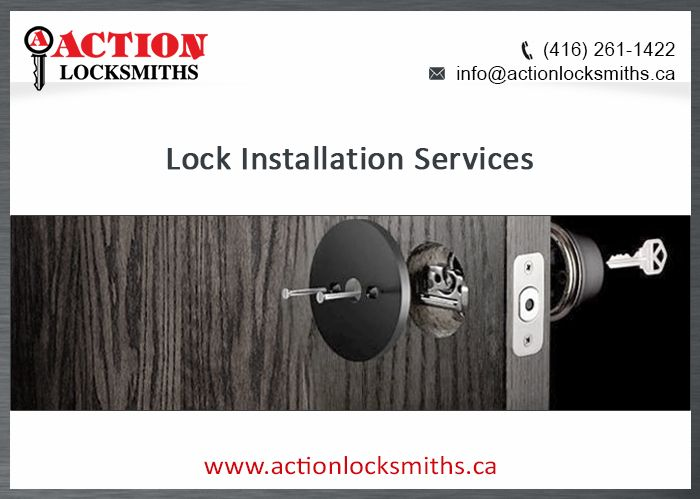 At Action LockSmith our expert techs are professionals at handling high-security lock installs, keyless access and master key systems.  Since 1975 we have been providing the best and most reliable service available. We take pride in knowing our clients feel safe and always trust us with their Lock Installation Services.