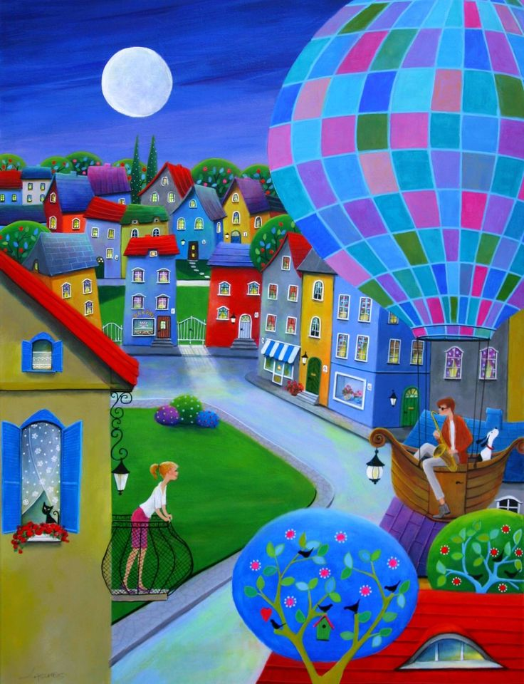 """Fly Me To The Moon"" -Iwona Lifsches, 2015"