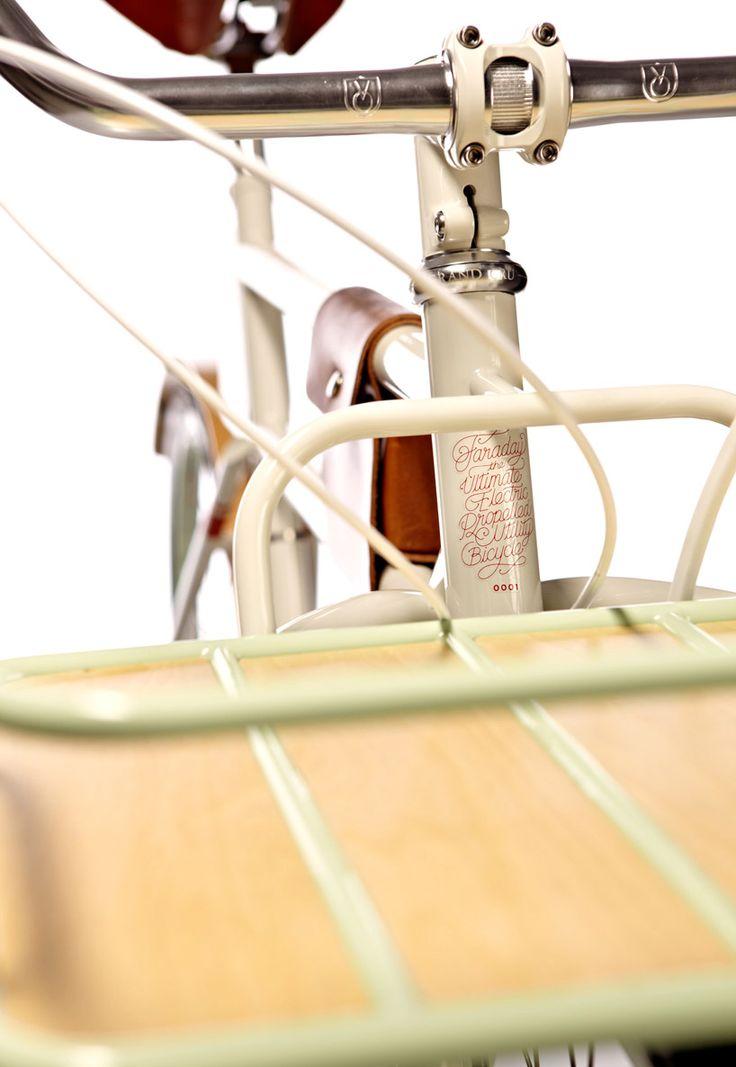 Bicyclette électrique Faraday Porteur / Faraday | Design d'objet