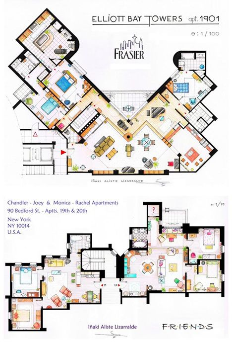 Frazier And Friends Apartment Layouts No Place Like Home