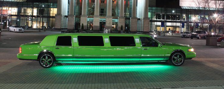 Lime Green Limo I Located This Kind Of Awesome Limousine