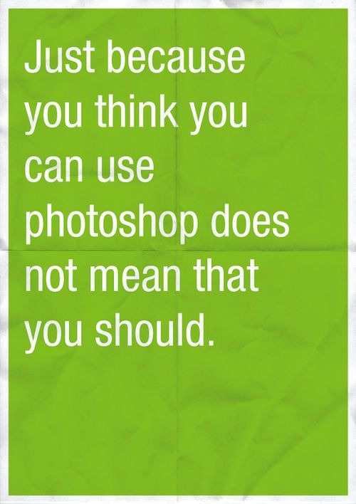 this one is for ppl who think photoshop is easy tool to play with..!!