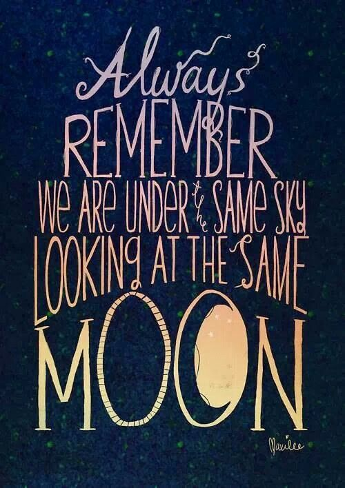 Sometimes it might seem like there's nothing left... but there's always the moon.