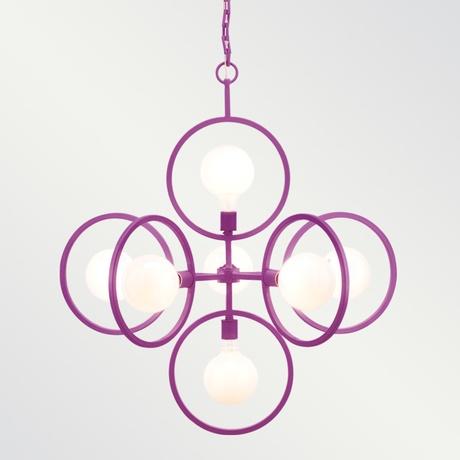 'Doucet' orchid chandelier