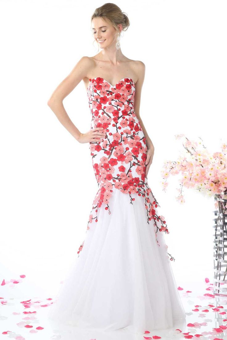 85 best Radiantly Red images on Pinterest | Party wear dresses ...