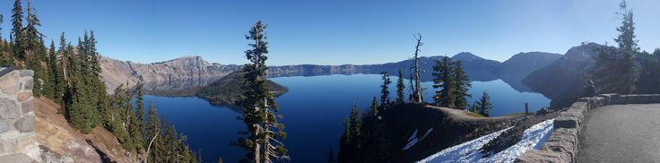 Beautiful day at Crater Lake National Park Crater Lake Oregon USA #hiking #camping #outdoors #nature #travel #backpacking #adventure #marmot #outdoor #mountains #photography