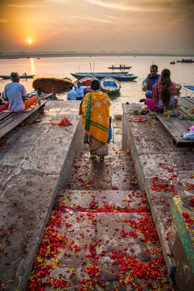 River Ganges ~ Varanasi, India