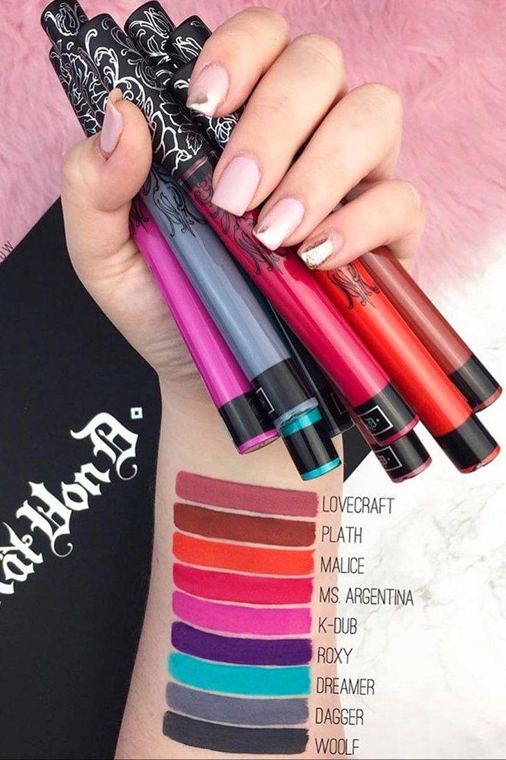 Kat Von D's Latest Everlasting Liquid Lipstick Is Coming Overseas