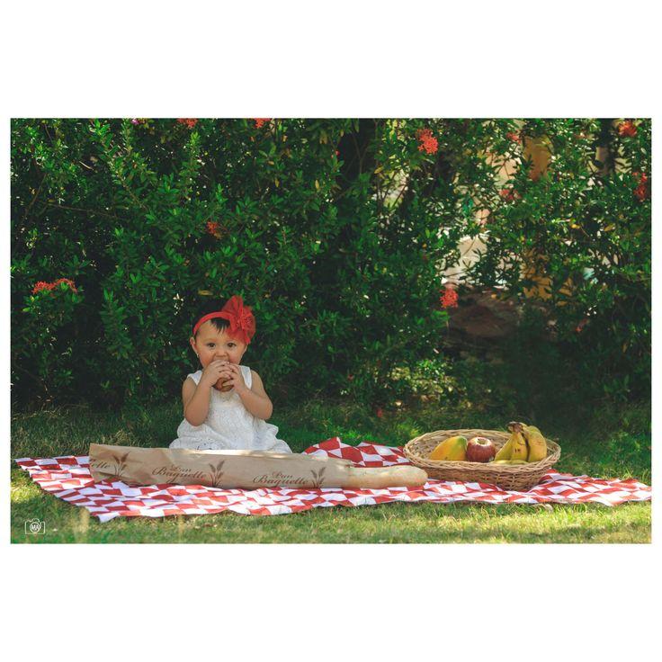 María Paz #Baby #Photography #Picnic