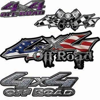 X Truck SUV ATV And Off Road Vehicle Graphics From Weston Ink - 4x4 truck decals