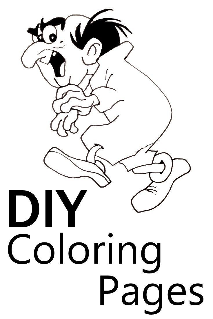 DIY: Create your own coloring pages for or with kids ...
