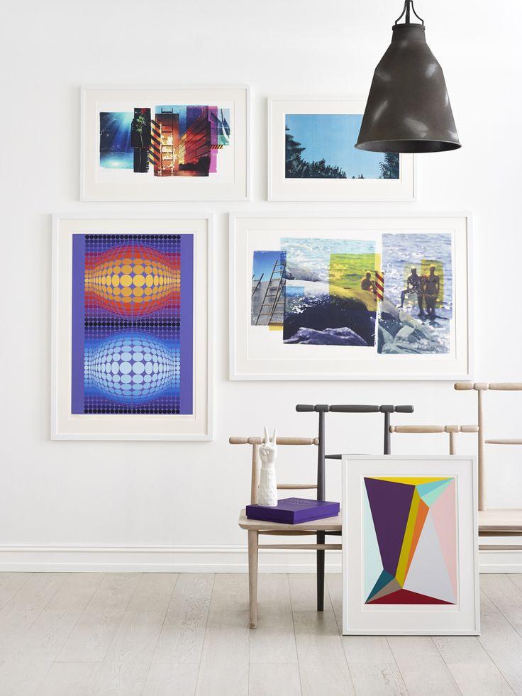 Per Fronth | Ingeborg Stana | Victor Vasarely | Per Fronth | Henrik Placht