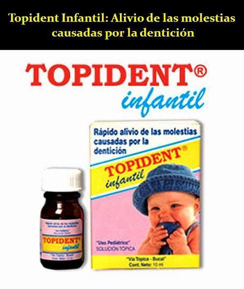 Topident Infantil: Rápido alivio de las molestias causadas por la dentición | OdontoFarma