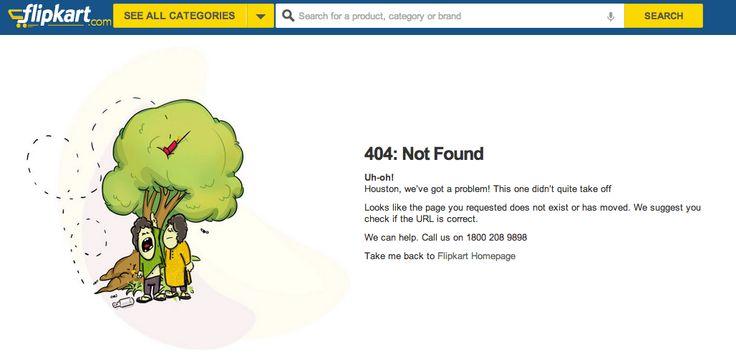 Interesting 404 error from Flipkart India