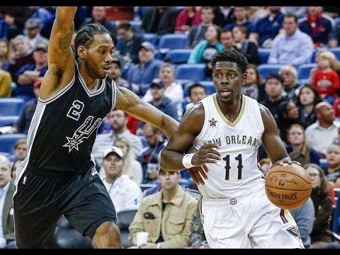 New Orleans Pelicans vs San Antonio Spurs  Full Game Replay  27 01 17