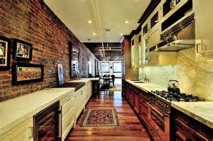 Image result for Rustic Galley Kitchens