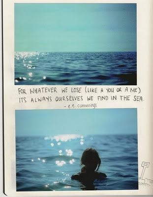 ee cummings. the sea.