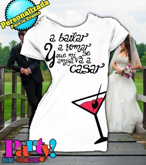 Playera Personalizada Despedida Soltera Wedding  - Jinx, playera, fiesta, personalizada, evento, ropa, camiseta, cumpleaños, programa, niños, trajes