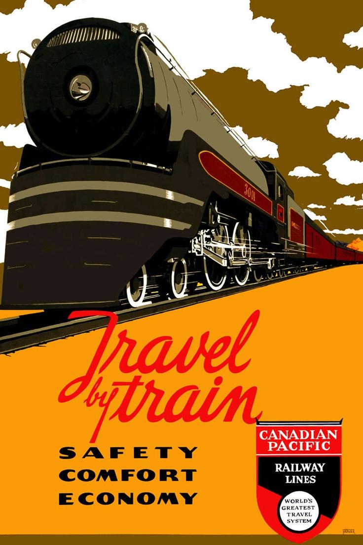 67 best Vintage Train ... Vintage Train Poster