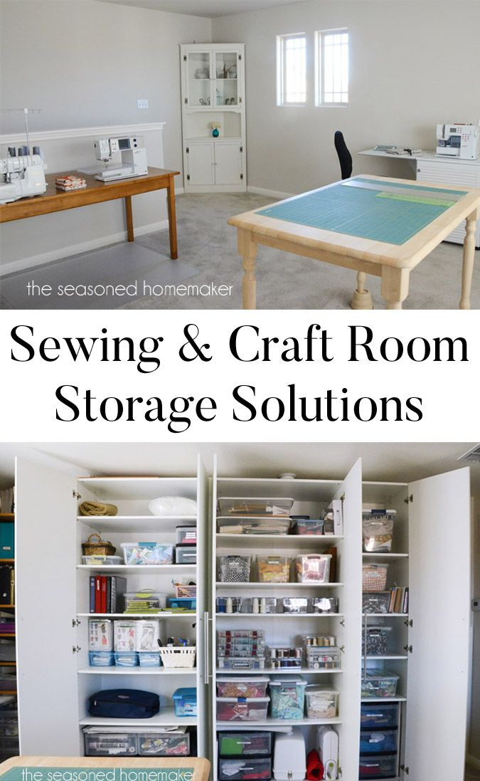 34 best images about sewing studio makeover it 39 s ongoing for Storage solutions for craft rooms