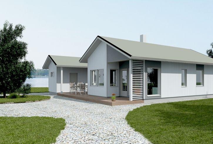 Moderni ja mukautuva –Lintulaakso: 76 m², 2 makuuhuonetta