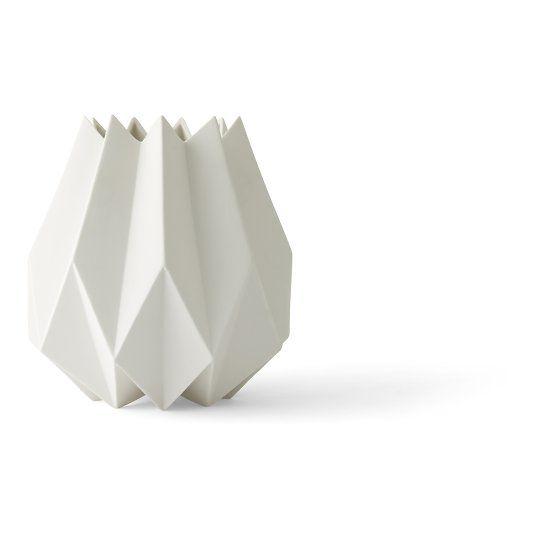 Vaas Folded valge