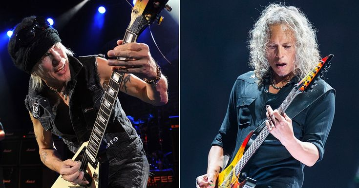 Hear Metallica's Kirk Hammett Play Ripping Solo on New Michael Schenker Song #headphones #music #headphones