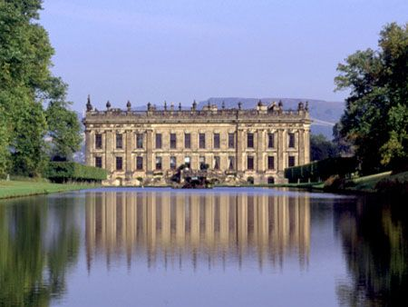 Ducal country home, England (Chatsworth)