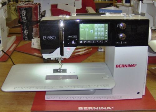 Bernina 580 sewing machine Review. My new baby as of Nov. 8, 2014. I love it. From SewingInsight.com