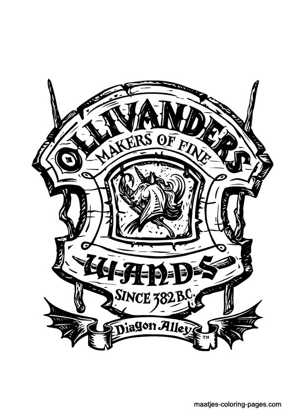 Diagon Alley - Ollivander's Makers of Fine Wands