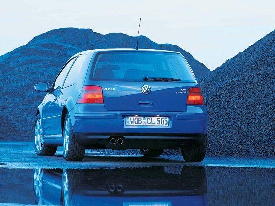 Volkswagen Golf V6 4MOTION 3-door (1999 – 2003).